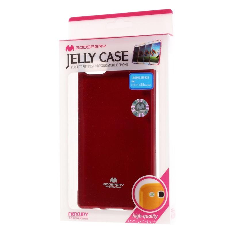 Купить TPU чехол Mercury Jelly Color series для Sony Xperia Z5 Compact Красный