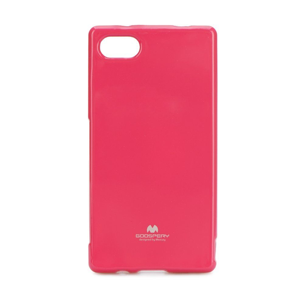 Купить TPU чехол Mercury Jelly Color series для Sony Xperia Z5 Compact Малиновый
