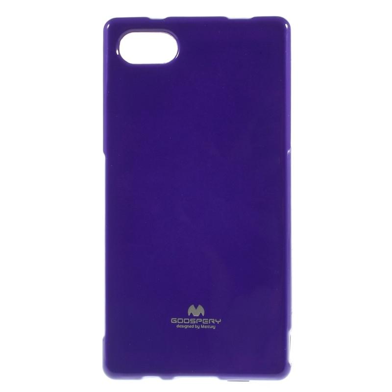 TPU чехол Mercury Jelly Color series для Sony Xperia Z5 Compact Фиолетовый  - купить со скидкой