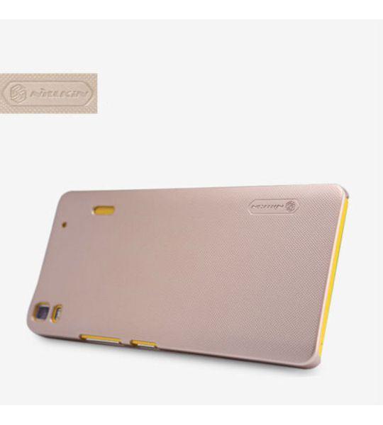 Купить Чехол Nillkin Matte для Lenovo A7000/K3 Note/K50T (+ пленка) Золотой