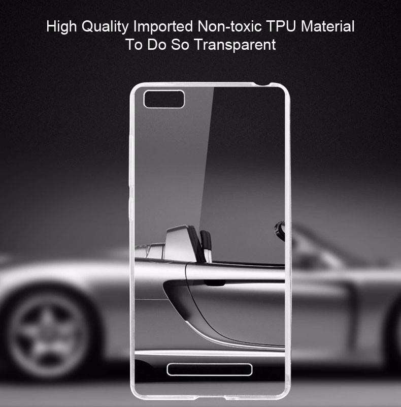 Купить TPU чехол Ultrathin Series 0, 33mm для Xiaomi Mi 4i / Mi 4c Бесцветный (прозрачный), epik