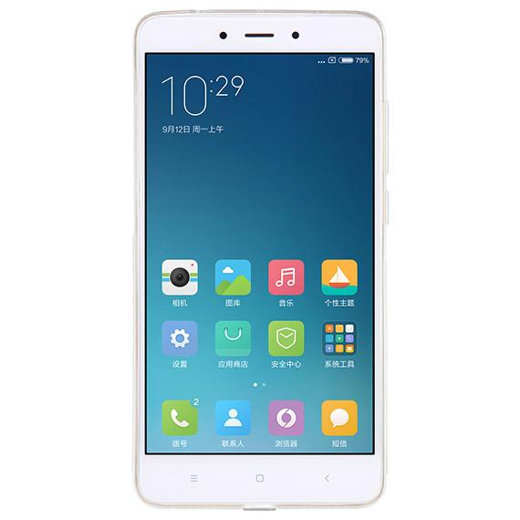Купить TPU чехол Nillkin Nature Series для Xiaomi Redmi Note 4 Серый (прозрачный)