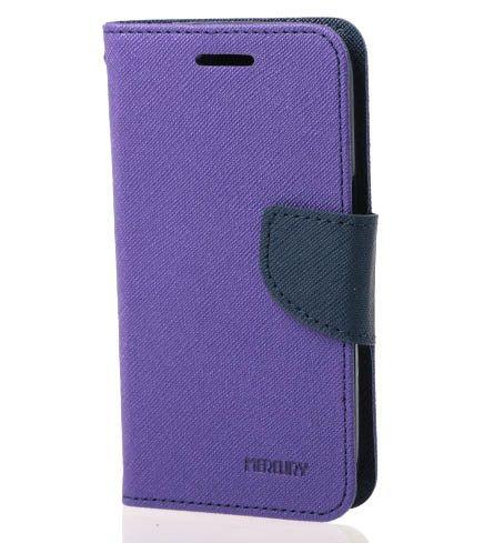 Купить Чехол (книжка) Mercury Fancy Diary series для Xiaomi Redmi Note 3 / Redmi Note 3 Pro Фиолетовый / Синий