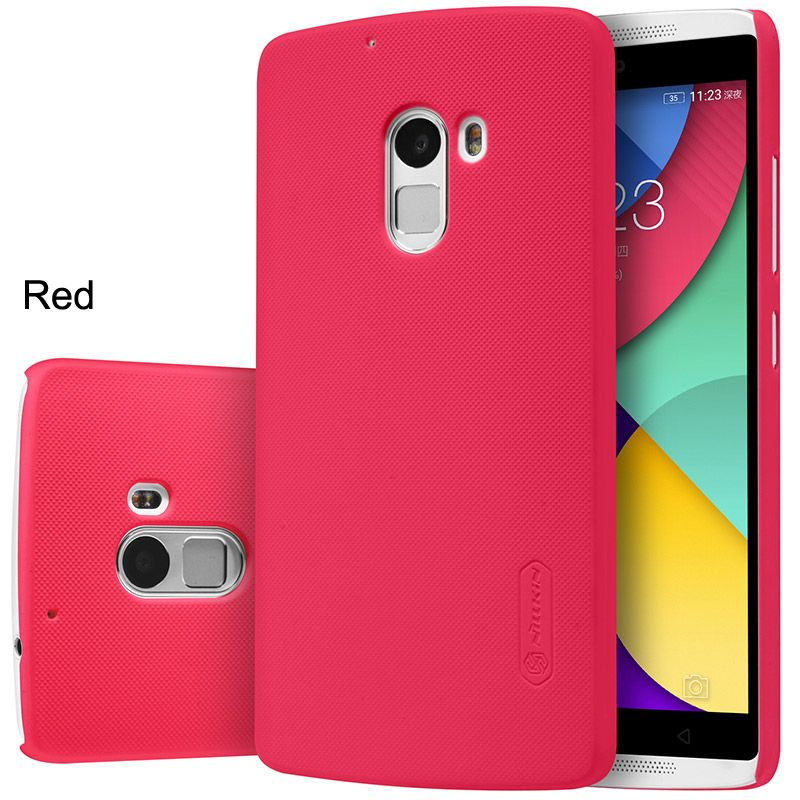 Купить Чехол Nillkin Matte для Lenovo Vibe X3 Lite (A7010) / K4 Note (+ пленка) Красный