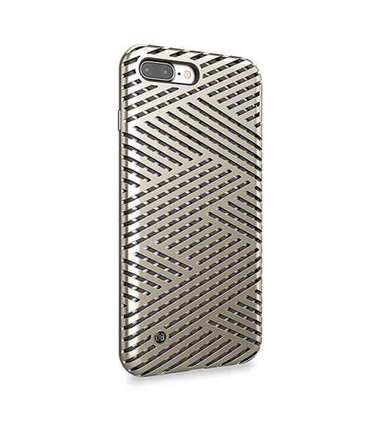 TPU+PC чехол STIL Kaiser    Series для Apple iPhone 7 plus (5.5 ) Золотой / Champagne gold  - купить со скидкой