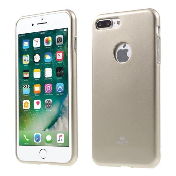Купить TPU чехол Mercury Jelly Color series для Apple iPhone 7 plus (5.5 ) Золотой