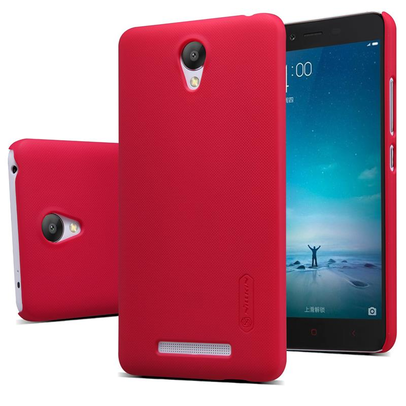 Купить Чехол Nillkin Matte для Xiaomi Redmi Note 2 / Redmi Note 2 Prime (+ пленка) Красный
