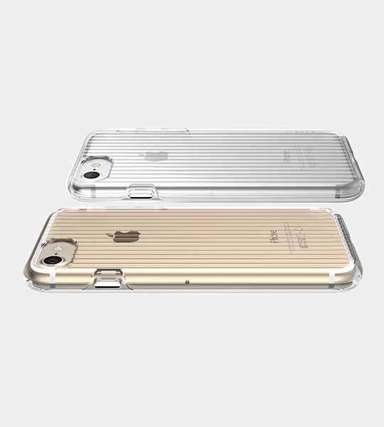 Купить TPU+PC чехол STIL Clear Wave Series для Apple iPhone 7 (4.7 ) Бесцветный (прозрачный)