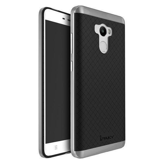 Купить Чехол iPaky TPU+PC для Xiaomi Redmi 4 Pro / Redmi 4 Prime Черный / Серый