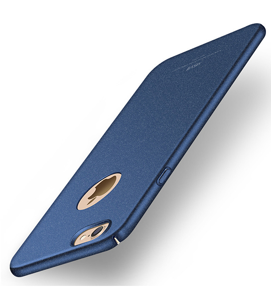 Пластиковый чехол Msvii Quicksand series для Apple iPhone 7 (4.7 ) Синий  - купить со скидкой