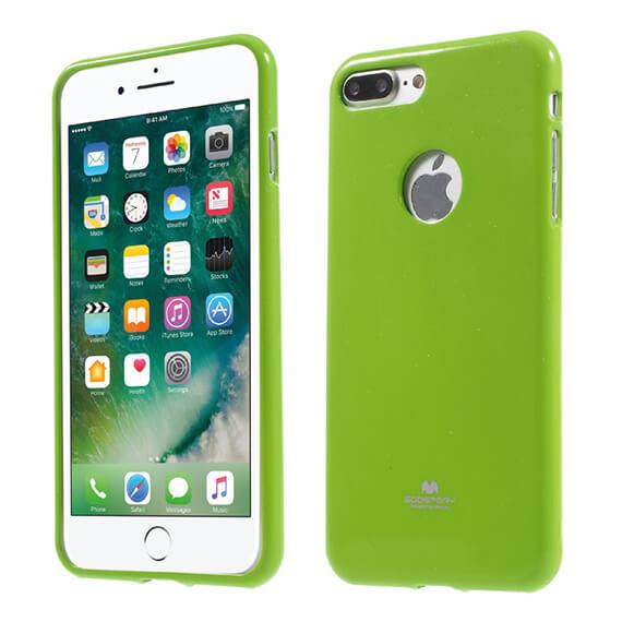 Купить TPU чехол Mercury Jelly Color series для Apple iPhone 7 plus (5.5 ) Лайм