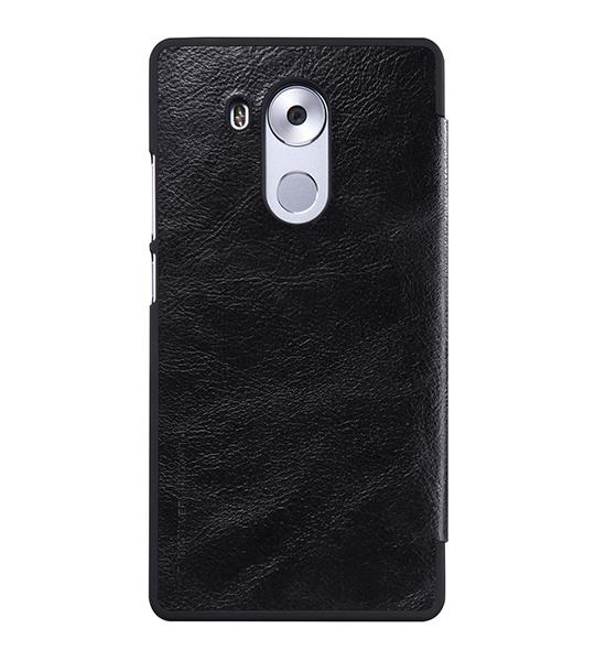 Купить Кожаный чехол (книжка) Nillkin Qin Series для Huawei Mate 8 Черный