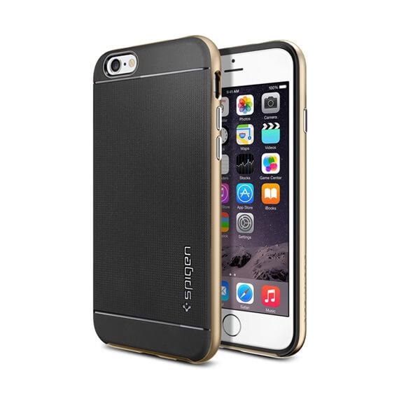 Купить Чехол SGP Neo Hybrid Series для Apple iPhone 6/6s (4.7 ) Золотой / Champagne Gold / SGP11035
