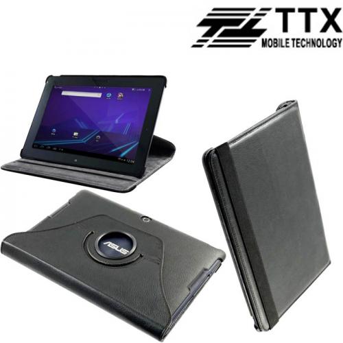 Кожаный чехол-книжка TTX (360 градусов) для Asus MeMO Pad Smart 10 ME301T/302KL