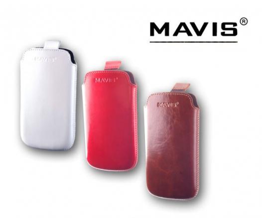 Кожаный футляр Mavis Premium 122x63 для S7562/G302D/i8160/i8190