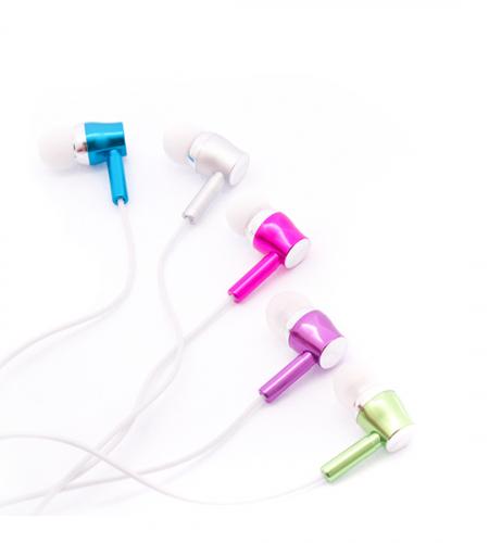 Неоновые светящиеся наушники с микрофоном