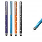 Емкостной стилус в виде ручки со стразами
