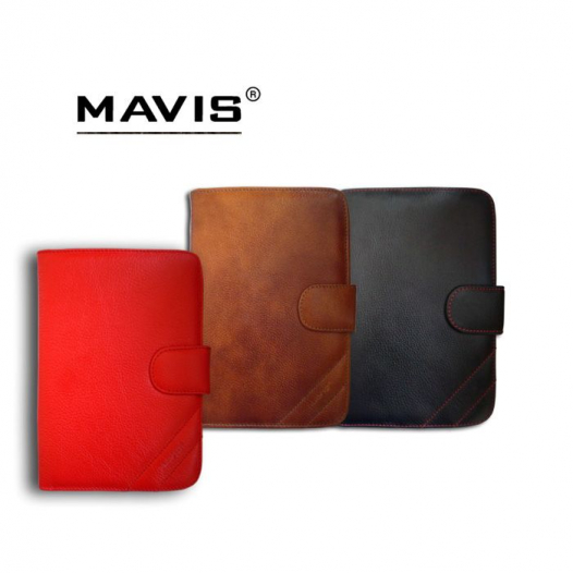 Кожаный чехол-книжка Mavis Classic с функцией подставки для Apple IPAD 2/3/4