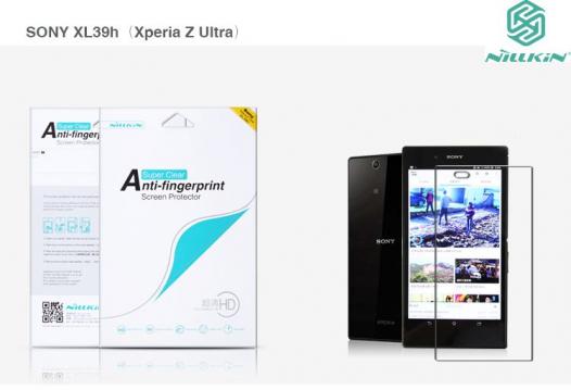 Защитная пленка Nillkin Crystal для Sony Xperia Z ULTRA