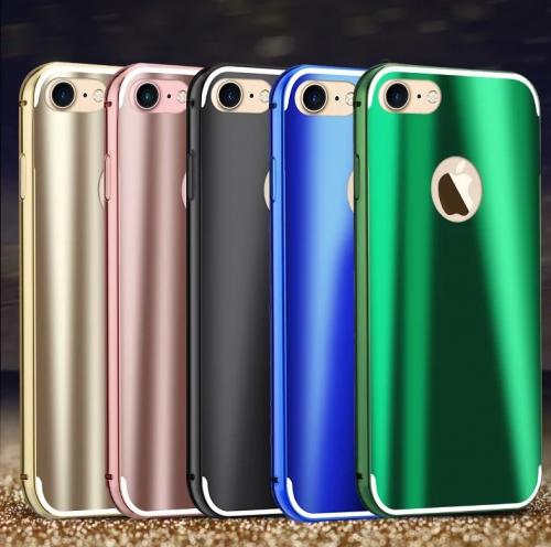 Металлический бампер с пластиковой вставкой Luxurious Neon Series для Apple Iphone 7