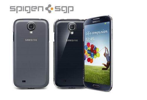 Пластиковая накладка SGP Ultra Thin Air Series для Samsung i9500 Galaxy S4 (+ пленка)
