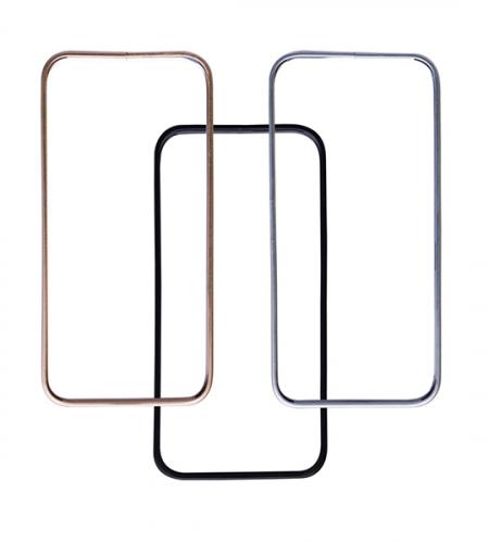 Металлический бампер Slim (защелка) для Apple iPhone 5/5S/SE