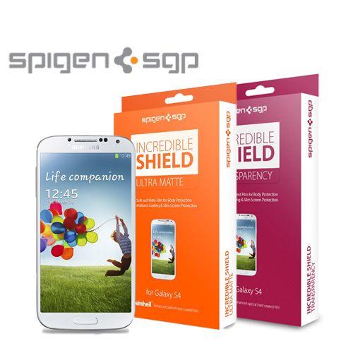 Защитная пленка (на весь корпус) SGP Incredible Shield Series для Samsung i9500 Galaxy S4