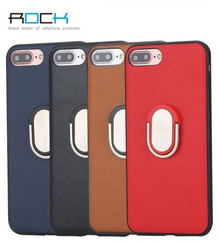 TPU+PC чехол Rock Ring Holder Case M1 Series для Apple iPhone 7 (4.7