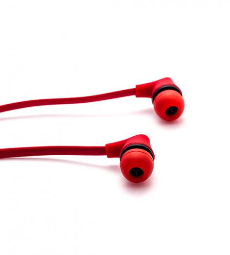 Вакуумные наушники PUMA PM-A10S с плоским проводом и микрофоном