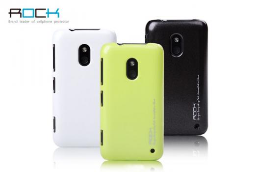 Пластиковая накладка ROCK NEW NakedShell series для Nokia Lumia 620