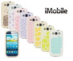 Силиконовый чехол iMobile Impression Laser Series для Samsung i9300 Galaxy S3