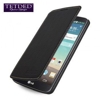 Кожаный чехол (книжка) TETDED для LG D855/D850 G3 (Уценка!)