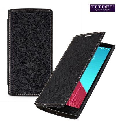 Кожаный чехол (книжка) TETDED для LG H815 G4/H818P G4 Dual