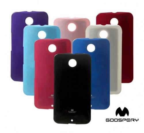 TPU чехол Mercury Jelly Color series для Motorola Nexus 6