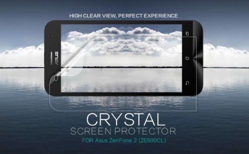 Защитная пленка Nillkin Crystal для Asus Zenfone 2 (ZE500CL)