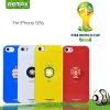 "TPU чехол Remax World Cup ""Spain"" для Apple iPhone 5/5S/SE"