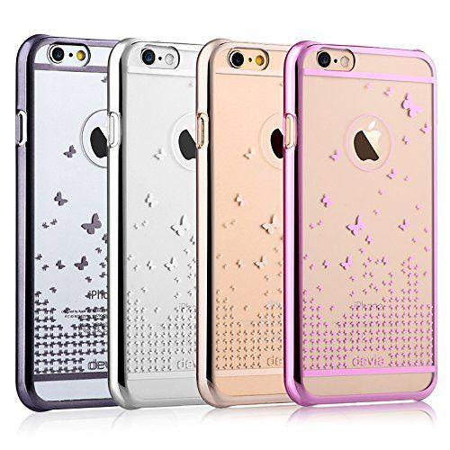 Пластиковая накладка DEVIA Butterfly Series для Apple iPhone 6/6s (4.7