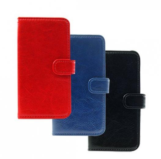 Кожаный чехол (книжка) Sticker для Samsung A500H / A500F Galaxy A5