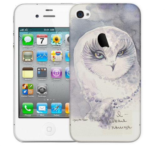 Чехол «Редкая птица» для Apple iPhone 4/4s