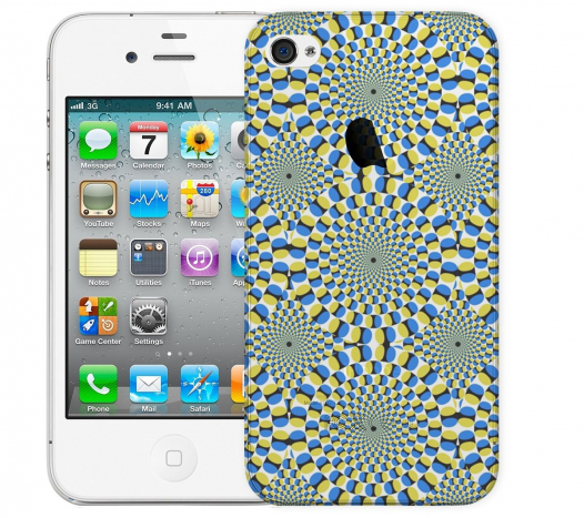 Чехол «Иллюзия» для Apple iPhone 4/4s
