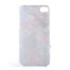 """Пластиковая накладка с узором """"Ветка персика"""" для Apple iPhone 4/4S"""