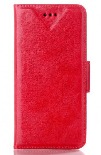 Кожаный чехол-книжка Oil Buffed для Apple iPhone 6/6s (4.7