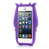 """Силиконовый чехол """"Коровка"""" для Apple iPhone 5/5S/SE"""