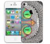 Чехол «Чешир» для Apple iPhone 4/4s
