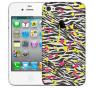 Чехол «Крутая зебра» для Apple iPhone 4/4s