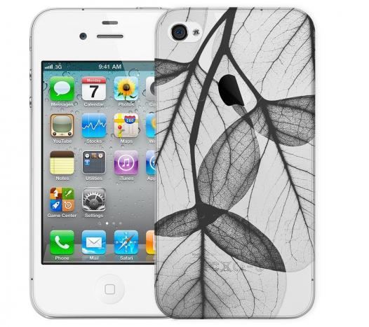 Чехол «Листики» для Apple iPhone 4/4s