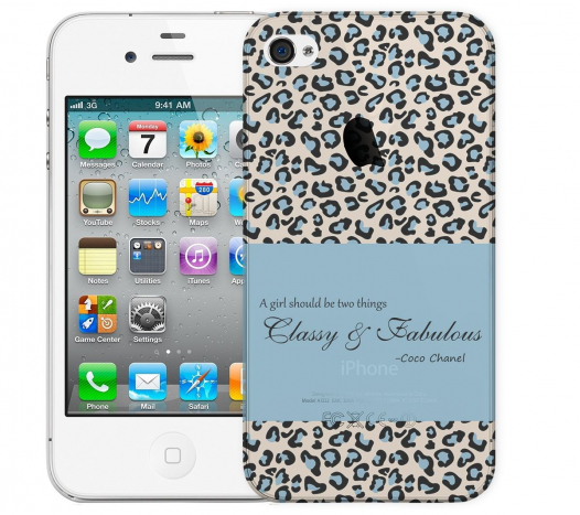 Чехол «Classy and Fabulous» для Apple iPhone 4/4s
