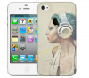 Чехол «Music» для Apple iPhone 4/4s