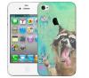 Чехол «Енотик» для Apple iPhone 4/4s
