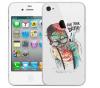 Чехол «Думай» для Apple iPhone 4/4s